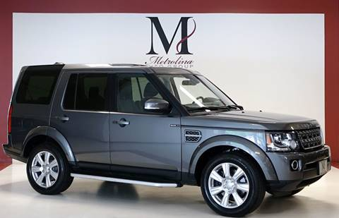 2015 Land Rover LR4 for sale in Charlotte, NC