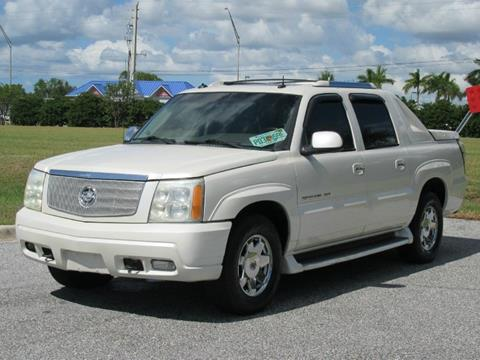 2003 Cadillac Escalade EXT for sale in Sarasota, FL