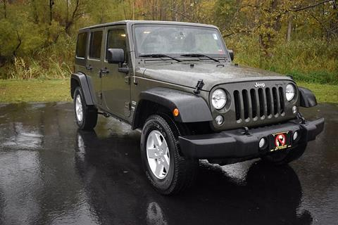 2016 Jeep Wrangler Unlimited for sale in Bridgeport, NY
