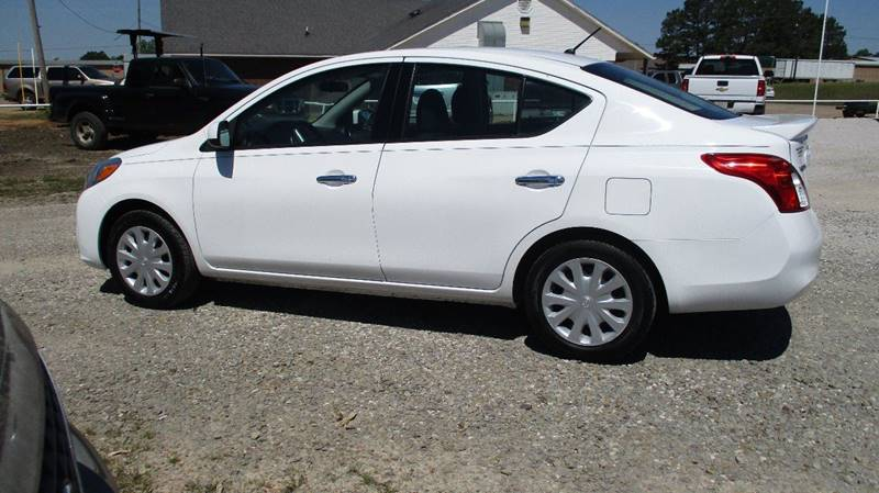 2014 Nissan Versa for sale at MARTIN DUNN COUNTRY AUTO SALES INC. in Wister OK