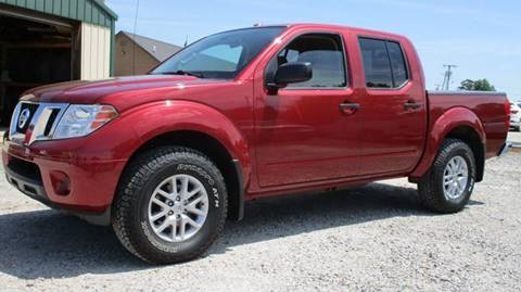 2014 Nissan Frontier for sale at MARTIN DUNN COUNTRY AUTO SALES INC. in Wister OK