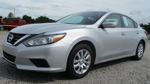 2016 Nissan Altima for sale at MARTIN DUNN COUNTRY AUTO SALES INC. in Wister OK