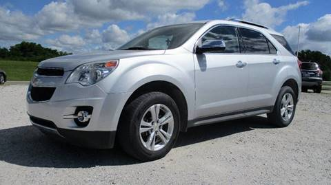 2011 Chevrolet Equinox for sale at MARTIN DUNN COUNTRY AUTO SALES INC. in Wister OK
