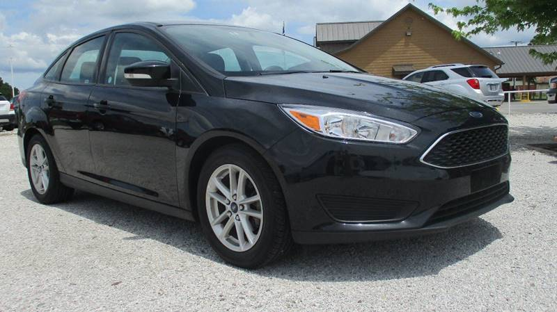 2016 Ford Focus for sale at MARTIN DUNN COUNTRY AUTO SALES INC. in Wister OK