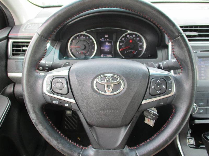 2016 Toyota Camry for sale at MARTIN DUNN COUNTRY AUTO SALES INC. in Wister OK