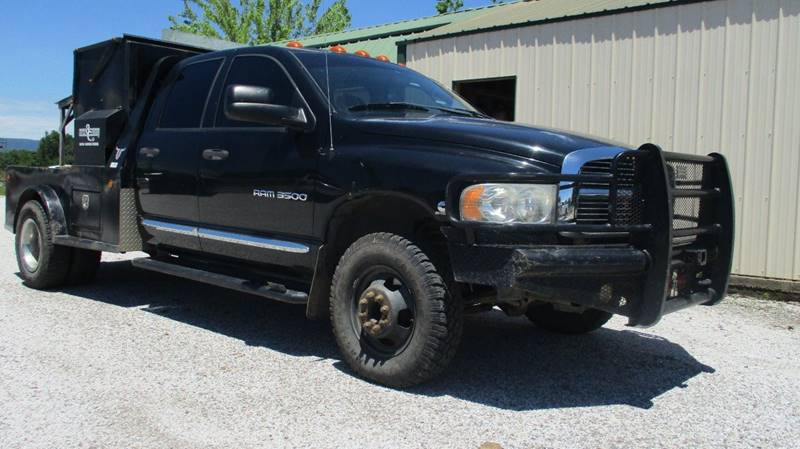 2004 Dodge Ram Pickup 3500 for sale at MARTIN DUNN COUNTRY AUTO SALES INC. in Wister OK