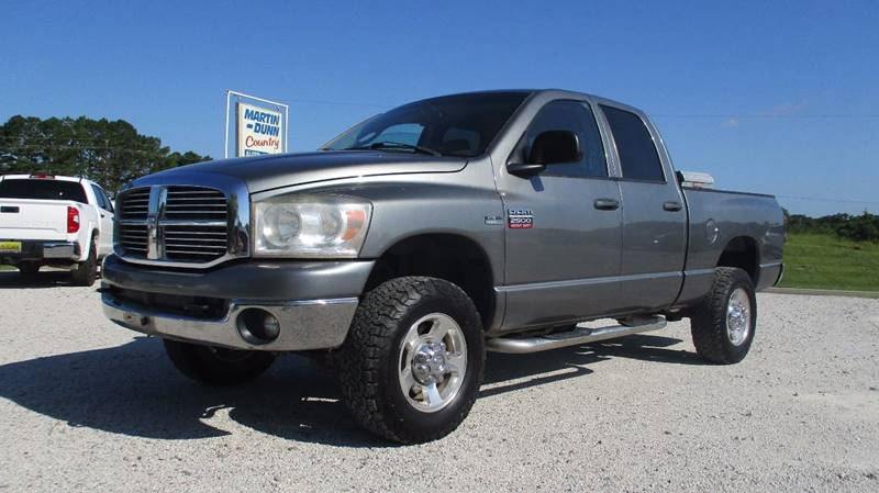 2009 Dodge Ram Pickup 2500 for sale at MARTIN DUNN COUNTRY AUTO SALES INC. in Wister OK