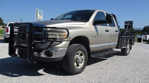 2004 Dodge Ram Pickup 2500 for sale at MARTIN DUNN COUNTRY AUTO SALES INC. in Wister OK