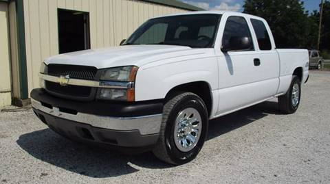 2005 Chevrolet Silverado 1500 for sale at MARTIN DUNN COUNTRY AUTO SALES INC. in Wister OK