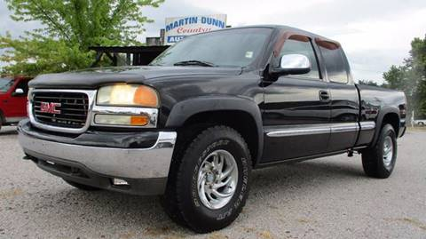 2002 GMC Sierra 1500 for sale at MARTIN DUNN COUNTRY AUTO SALES INC. in Wister OK
