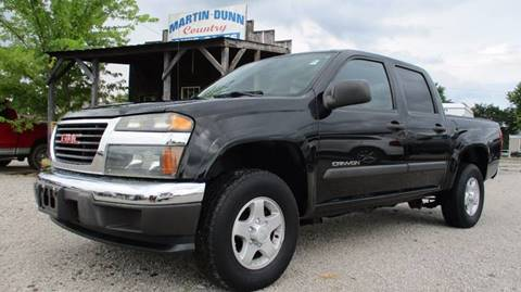 2005 GMC Canyon for sale at MARTIN DUNN COUNTRY AUTO SALES INC. in Wister OK