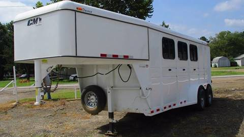 2015 CM 3 Horse Trailer CM41243-16 for sale at MARTIN DUNN COUNTRY AUTO SALES INC. in Wister OK
