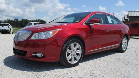 2012 Buick LaCrosse for sale at MARTIN DUNN COUNTRY AUTO SALES INC. in Wister OK