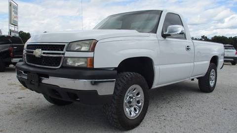 2006 Chevrolet Silverado 1500 for sale at MARTIN DUNN COUNTRY AUTO SALES INC. in Wister OK