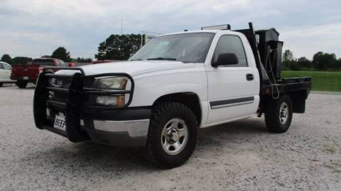 2004 Chevrolet Silverado 1500 for sale at MARTIN DUNN COUNTRY AUTO SALES INC. in Wister OK