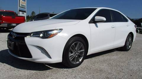 2016 Toyota Camry for sale in Wister, OK