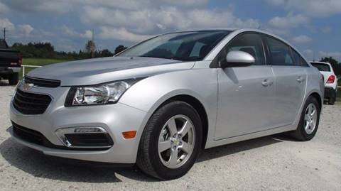 2016 Chevrolet Cruze Limited for sale at MARTIN DUNN COUNTRY AUTO SALES INC. in Wister OK