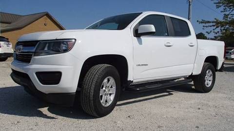 2016 Chevrolet Colorado for sale in Wister, OK