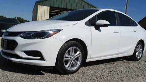 2017 Chevrolet Cruze for sale at MARTIN DUNN COUNTRY AUTO SALES INC. in Wister OK
