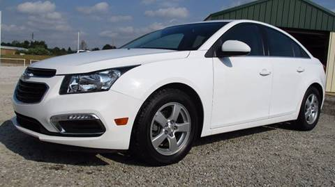 2015 Chevrolet Cruze for sale at MARTIN DUNN COUNTRY AUTO SALES INC. in Wister OK