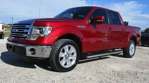 2013 Ford F-150 for sale in Wister, OK