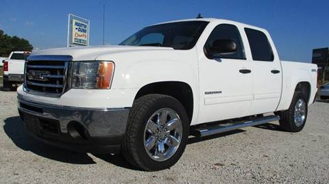 2012 GMC Sierra 1500 for sale at MARTIN DUNN COUNTRY AUTO SALES INC. in Wister OK