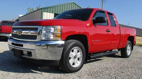 2012 Chevrolet Silverado 1500 for sale at MARTIN DUNN COUNTRY AUTO SALES INC. in Wister OK