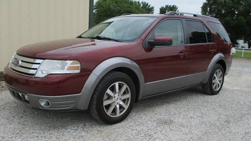 2008 Ford Taurus X Sel In Wister Ok Martin Dunn Country Auto Sales
