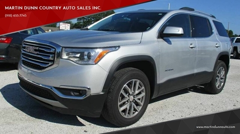 2018 GMC Acadia for sale in Wister, OK