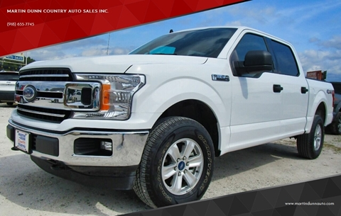 2019 Ford F-150 for sale in Wister, OK