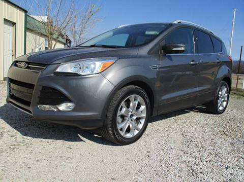 2014 Ford Escape for sale at MARTIN DUNN COUNTRY AUTO SALES INC. in Wister OK