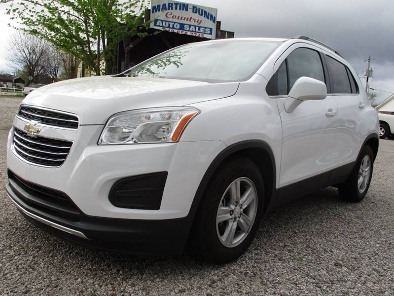 2015 Chevrolet Trax for sale at MARTIN DUNN COUNTRY AUTO SALES INC. in Wister OK