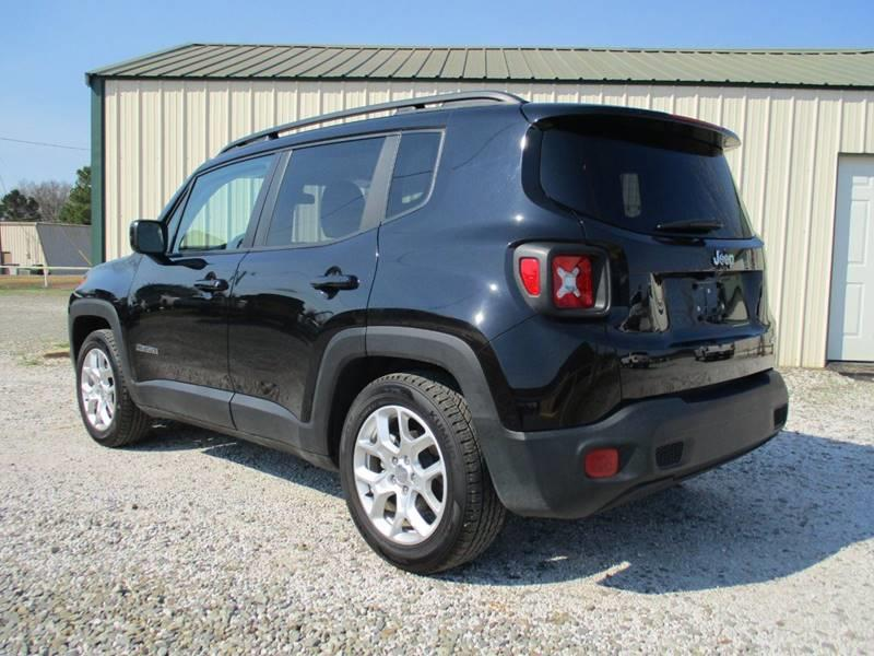 2016 Jeep Renegade for sale at MARTIN DUNN COUNTRY AUTO SALES INC. in Wister OK