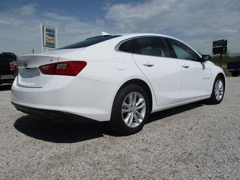 2016 Chevrolet Malibu for sale at MARTIN DUNN COUNTRY AUTO SALES INC. in Wister OK