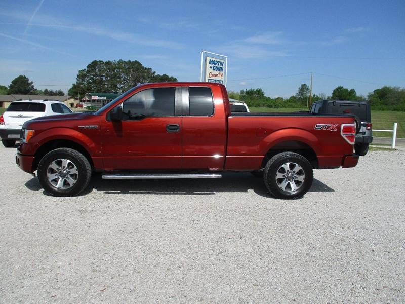 2014 Ford F-150 for sale at MARTIN DUNN COUNTRY AUTO SALES INC. in Wister OK