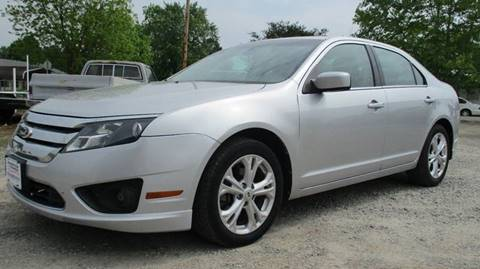 2012 Ford Fusion for sale at MARTIN DUNN COUNTRY AUTO SALES INC. in Wister OK