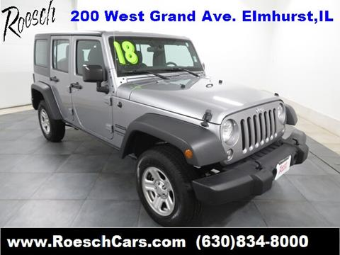 2018 Jeep Wrangler Unlimited for sale in Elmhurst, IL