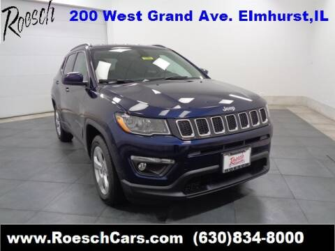 2020 Jeep Compass Latitude for sale at LARRY ROESCH CHRYSLER JEEP in Elmhurst IL