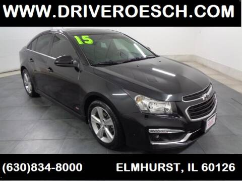 2015 Chevrolet Cruze 2LT Auto for sale at LARRY ROESCH CHRYSLER JEEP in Elmhurst IL