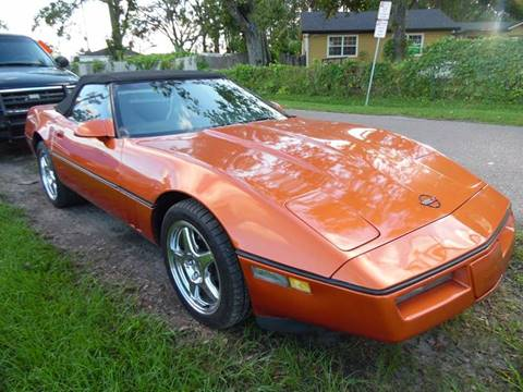 1988 Chevrolet Corvette for sale in Jacksonville, FL