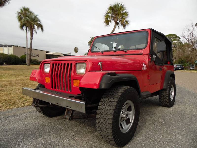 1992 Jeep Wrangler S In Jacksonville FL - The Peoples Car Company