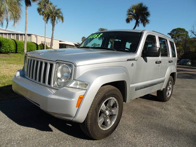 2008 Jeep Liberty For Sale At The Peoples Car Company In Jacksonville FL