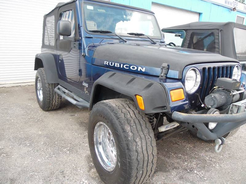 2005 Jeep Wrangler For Sale At The Peoples Car Company In Jacksonville FL