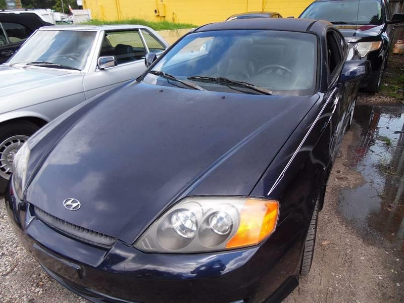 2004 Hyundai Tiburon For Sale At The Peoples Car Company In Jacksonville FL