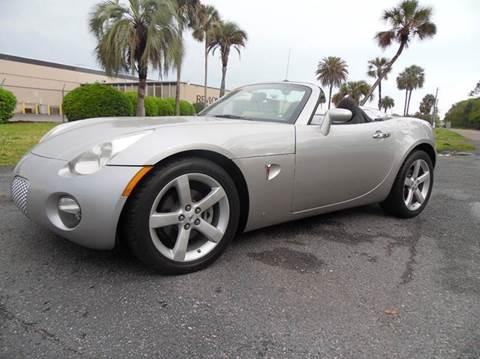 2008 Pontiac Solstice for sale in Jacksonville, FL