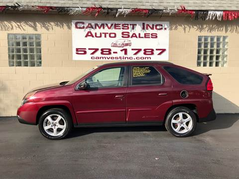 2003 Pontiac Aztek for sale in Depew, NY