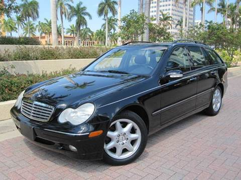 2004 Mercedes-Benz C-Class for sale at FLORIDACARSTOGO in West Palm Beach FL