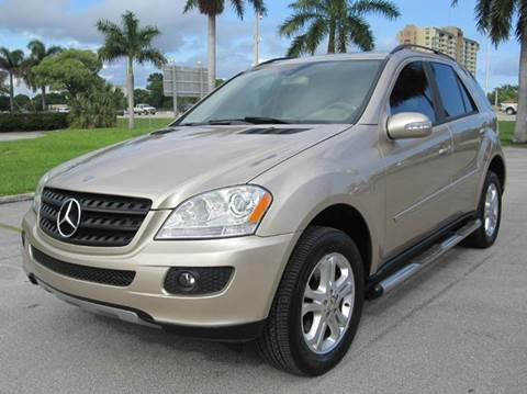 2006 Mercedes-Benz M-Class for sale at FLORIDACARSTOGO in West Palm Beach FL
