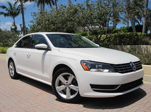 2012 Volkswagen Passat for sale at FLORIDACARSTOGO in West Palm Beach FL