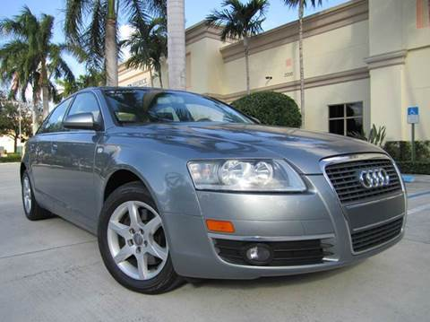 2007 Audi A6 for sale at FLORIDACARSTOGO in West Palm Beach FL